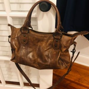 Frye Leather Melissa Satchel